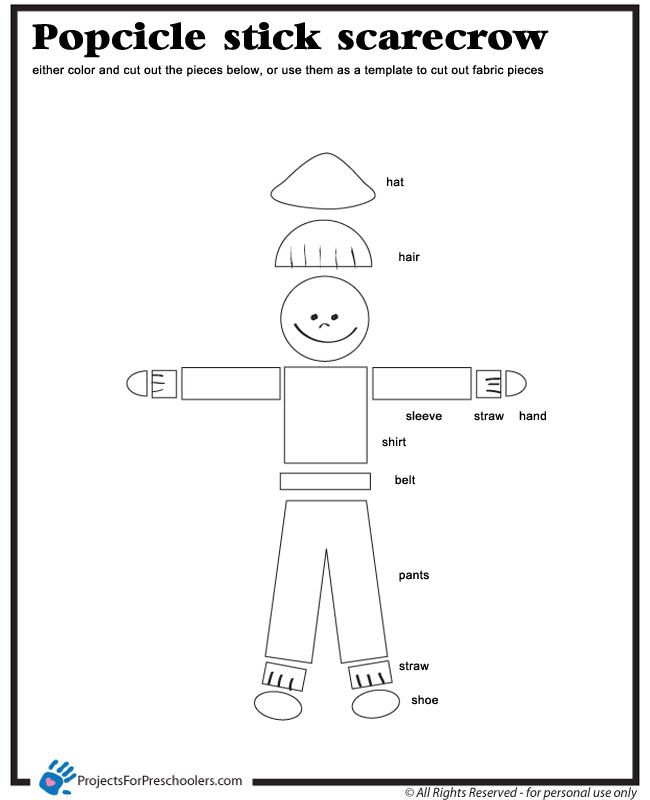 scarecrow coloring pages printables check out more free coloring pages for preschoolers