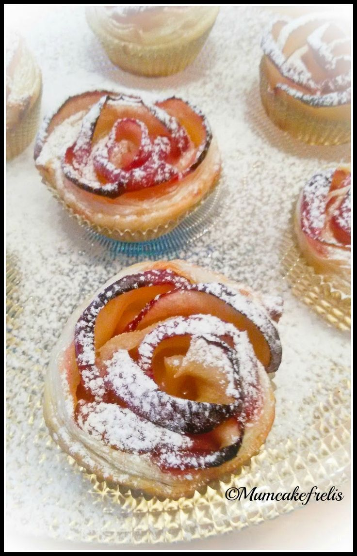 Mum Cake Frelis: 50 sfumature di.. mela - Roselline di mela Prêt-à-...