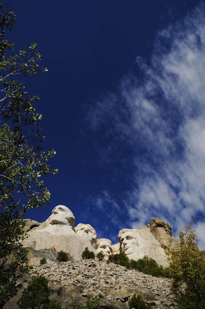 Mount Rushmore. Black Hills, South Dakota, USA.