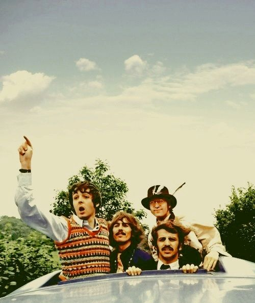 """Magical Mystery Tour.  """"Good morning ladies and gentlemen, boys and girls! Welcome to... Magical Mystery Tour!"""""""