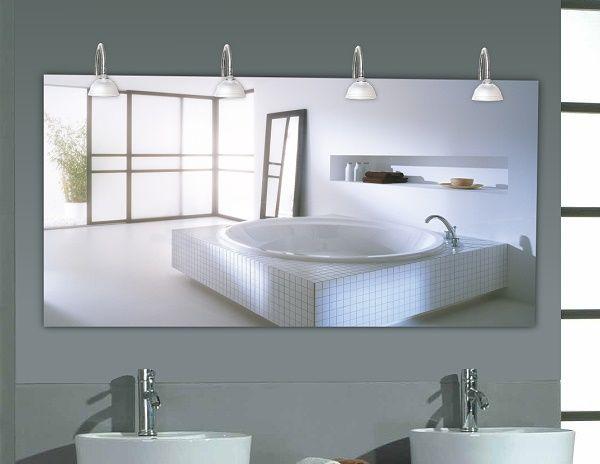 Mer enn 25 bra ideer om Badspiegel Beleuchtet på Pinterest - badezimmerspiegel mit licht
