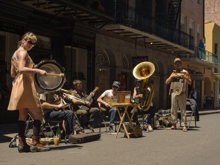 On our last walk around the French Quarter before heading home we came across this band setting up on Royal Street. We were able to hear a few songs and snap a few shots before rushing off to the airport. - Robert Davies Nat. Geo. Photo of the Day