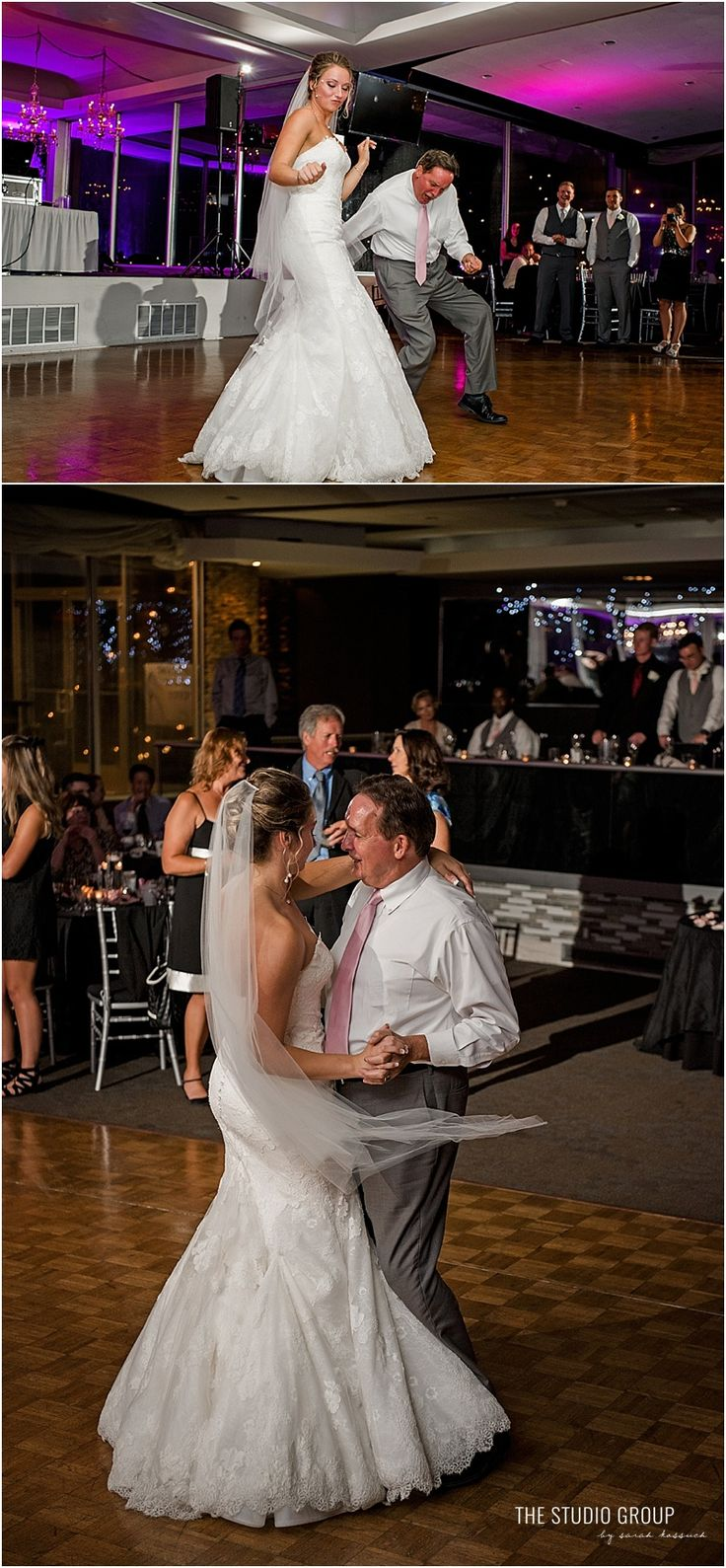 Renaissance Center Detroit Roostertail Wedding
