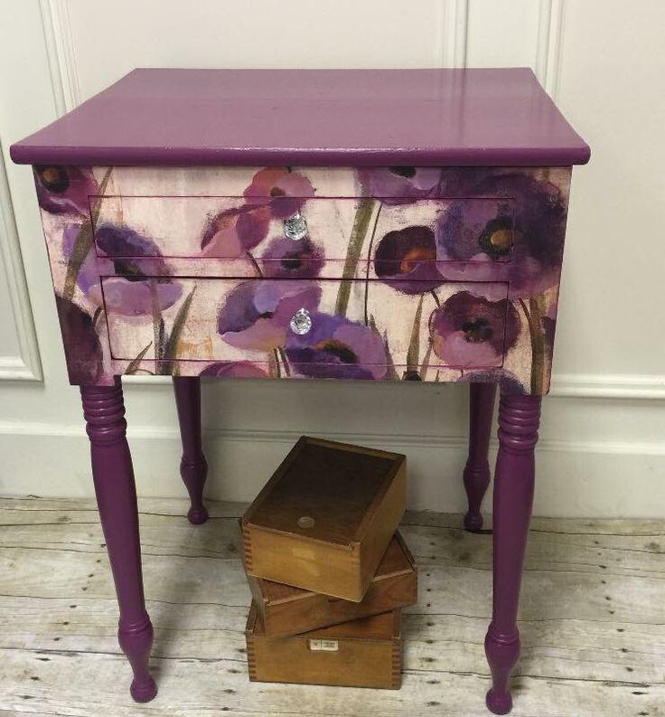 249 best purple painted furniture images on pinterest
