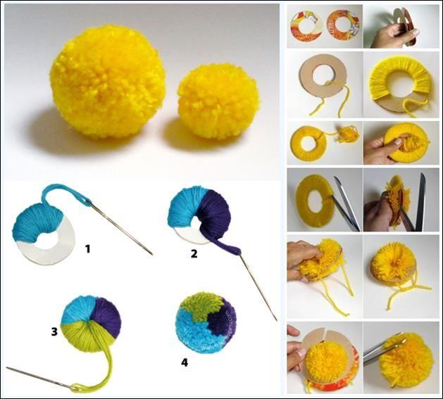 DRICA TUDO DE BOM: Para fazer pompons de lã e fazer muita coisa