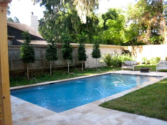 15 best images about narrow garden with pool on pinterest for Garden pool facebook