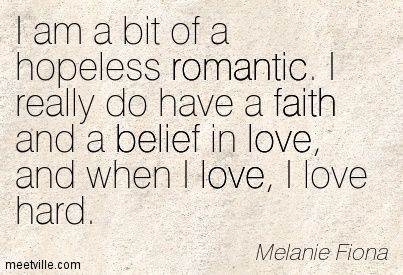 hopeless romantic quotes - Google Search