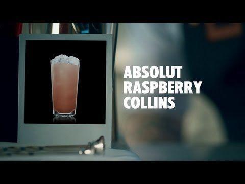 Absolut Raspberry Collins Recipe