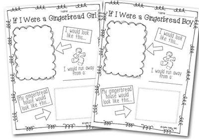 Classroom Freebies: If I Were A Gingerbread...