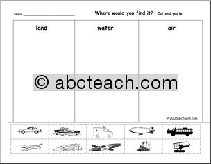 10 best Montessori Land, Air, Water images on Pinterest   Cards ...