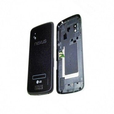 Esourceparts get Back Battery Door Glass Cover Housing for LG Google Nexus 4 E960 - Black just-CA$21.99  http://bit.ly/1NT3Gfg