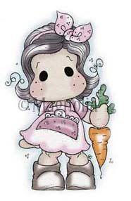 #358 Tilda picking carrots