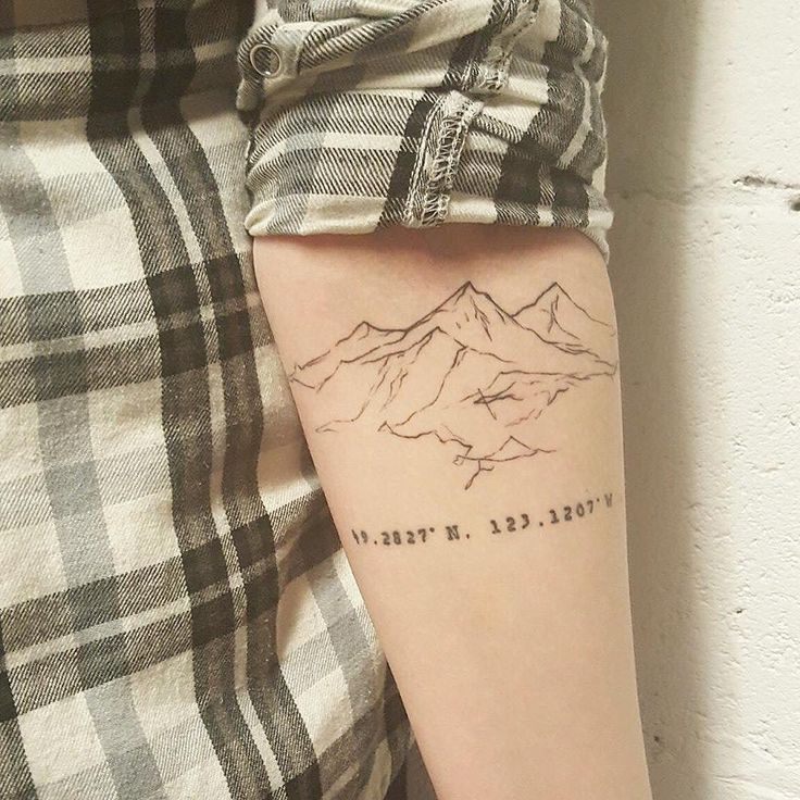 Healed mountain tattoo - Tattoo People Toronto - Jess Chen