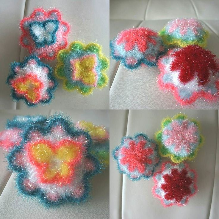 wittypuppy:: 셀럽님의 나비수세미! #뜨개질 #코바늘소품 #손뜨개 #뜨개 #뜨개스타그램 #수세미 #나비수세미 #셀럽 #함뜨 #knitting #amigurumi #butterfly #knittingdoll #handmade #madebyme #핸드메이드 #소품만들기 #인테리어소품 #interior #homemade #엄마표그램 #diy #knittedtoy #crochet #knitt #일상 #daily