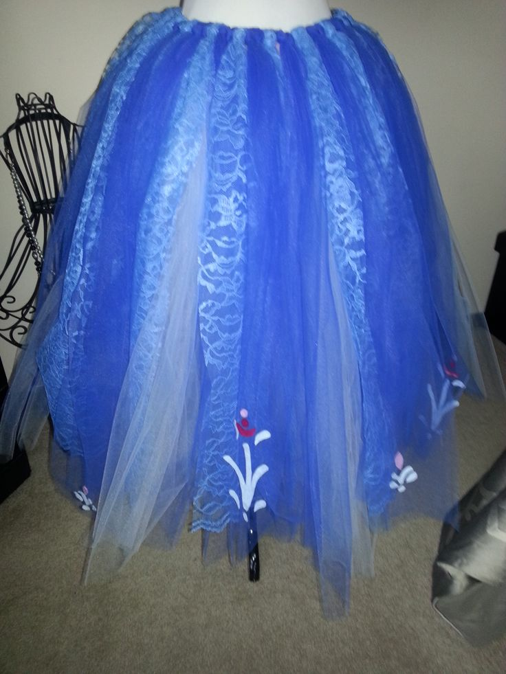 how to make frozen tutu skirt