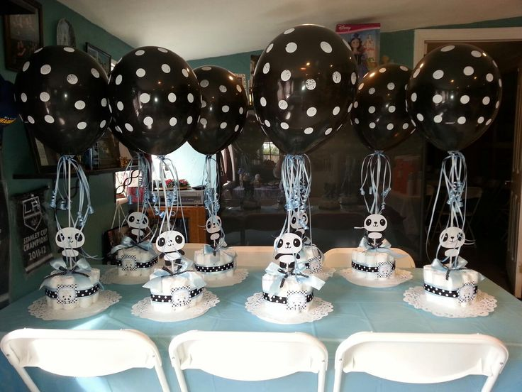 17 best images about panda party on pinterest zoo animal for Baby shower decoration stores
