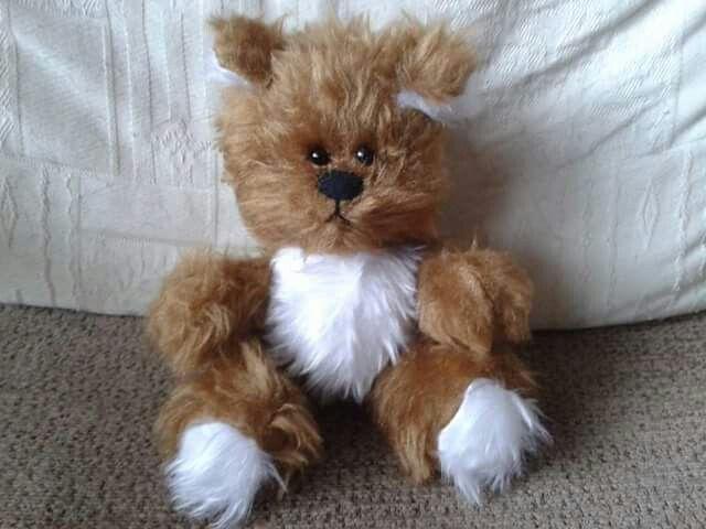 Fluffy bear!