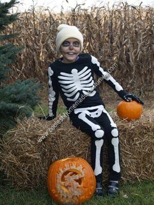 Homemade Skeleton Costume                                                                                                                                                                                 More