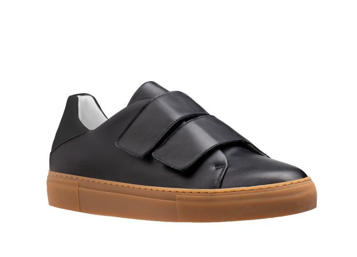 Freakloset – Kate Double V Sneaker – 39 – Black/Brown