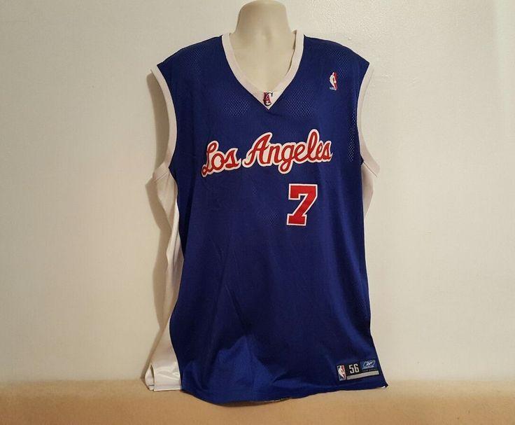 0a73c4b22 ... Details about Lamar Odom 7 Los Angeles Clippers NBA Reebok Swingman  Sewn Jersey Size 56 ...