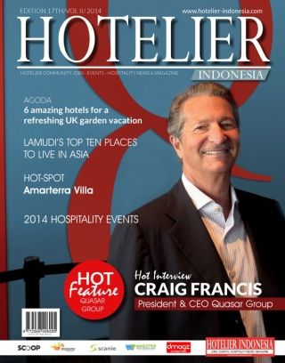 Hotelier Indonesia Edition 17 digital magazine - Read the digital edition by Magzter on your iPad, iPhone, Android, Tablet Devices, Windows 8, PC, Mac and the Web.