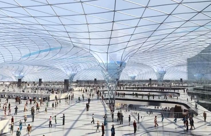 Mexico City New Airport 2018 Norman Foster Architects