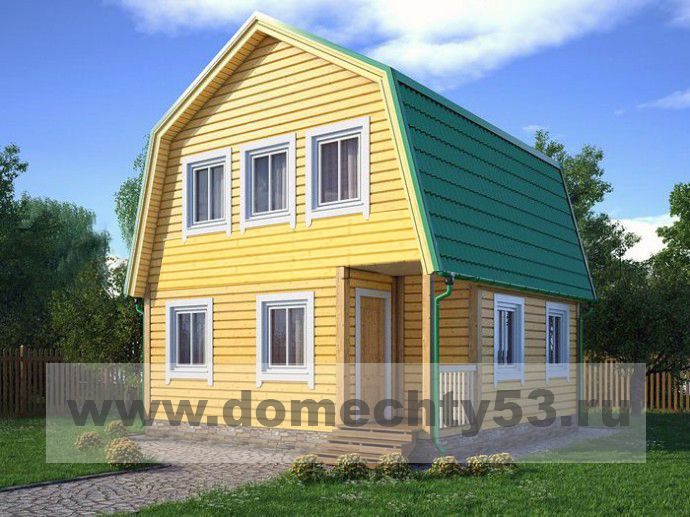 Проекты каркасных домов под ключ, цены на готовые проекты каркасных  домов, недорого | СК Дом Мечты