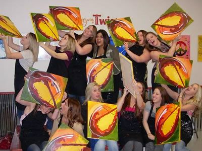 Painting with a Twist....can't wait to have a girls night out
