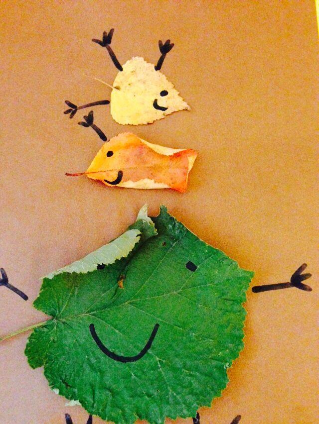 Høstblader blir høstbilder