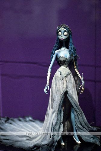 Corpse Bride - Tim Burton Exhibition @ ACMI #timburton