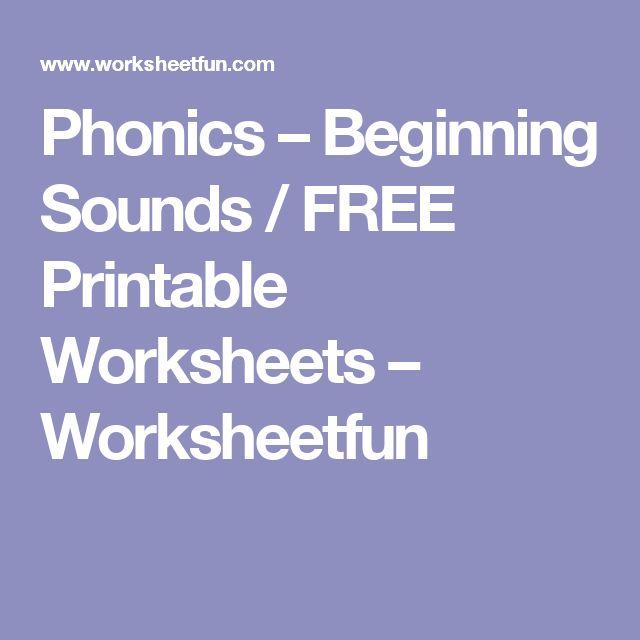 17 best ideas about Beginning Sounds on Pinterest | Beginning ...