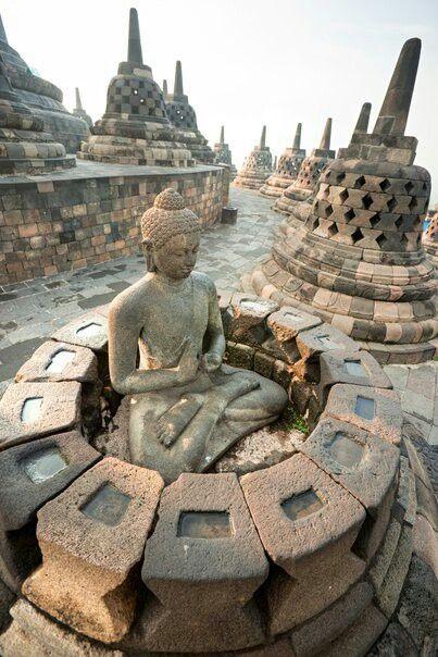 Borobudur Tempel, Java, Indonesien