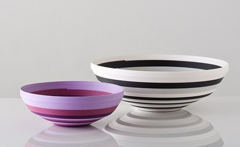 Bowls: Gorgeous Bowls, Pretty Paper, Recycled Paper, Paper Work, Paper Bowls, Paper Joy