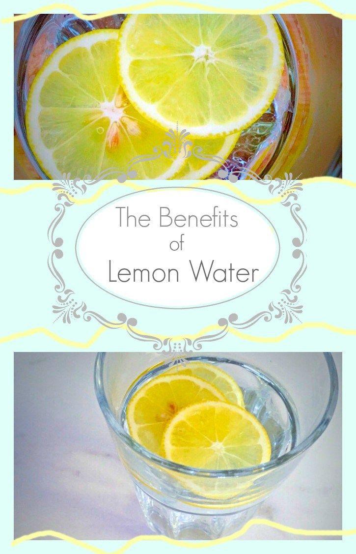 The Benefits of Lemon Water