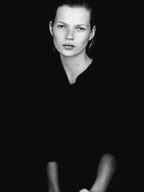 Kate Moss by Peter Lindbergh for Harper's Bazaar US September 1994