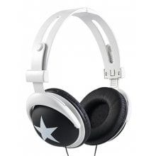 Big Star Pattern Sports Style Headphone