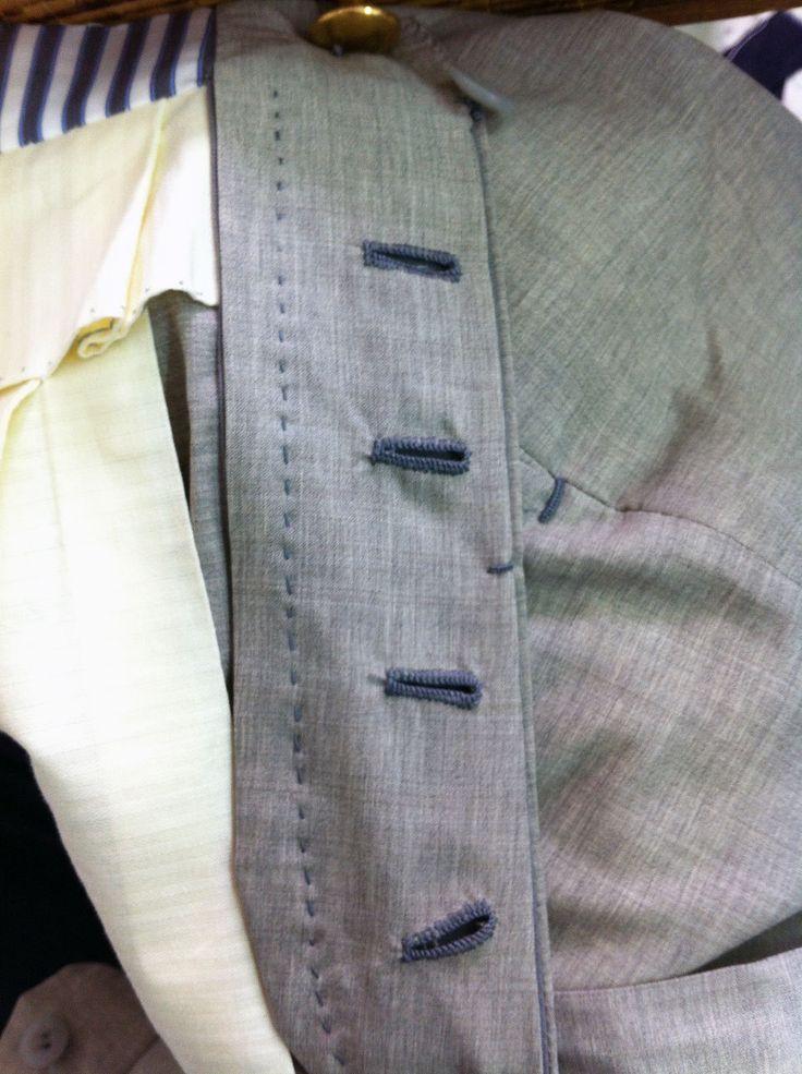 Sprezzatura-Eleganza — ambrosi-napoli:   Handwork on a cashmere-silk...