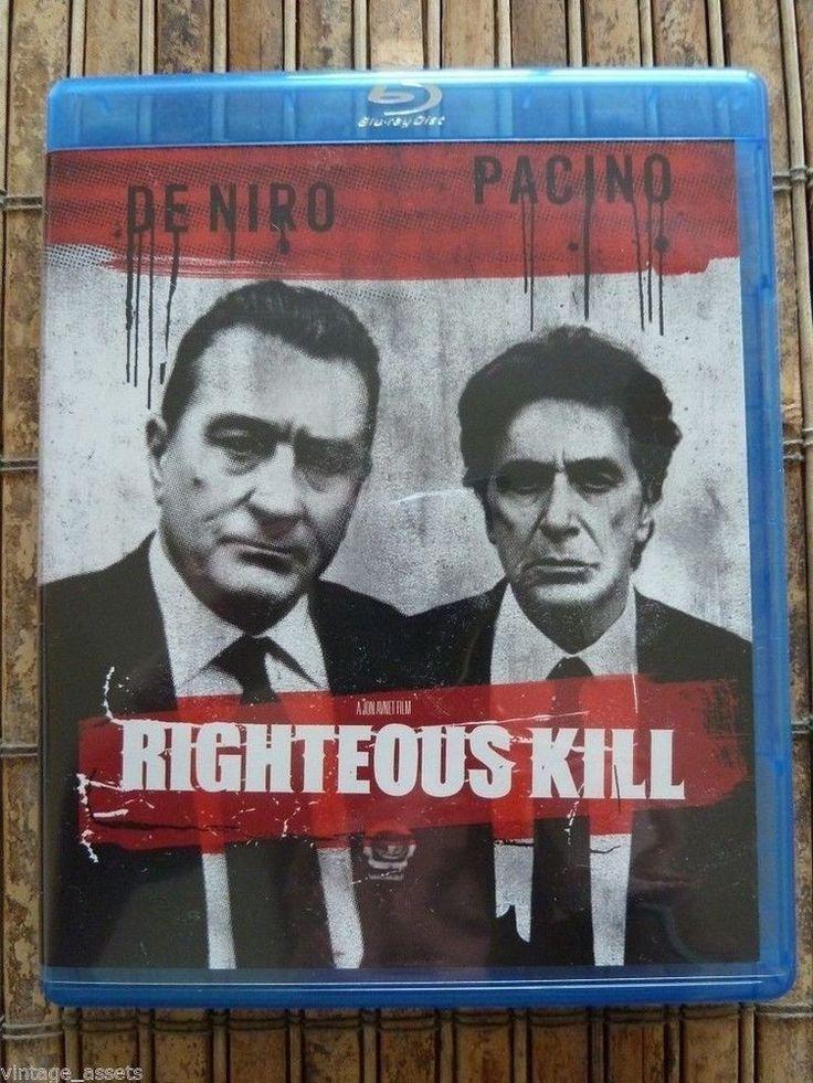 Righteous Kill (Blu-ray Disc, 2009) Al Pacino Robert DeNiro