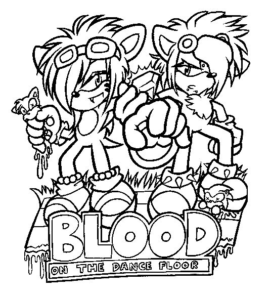 give blood coloring pages - photo#16