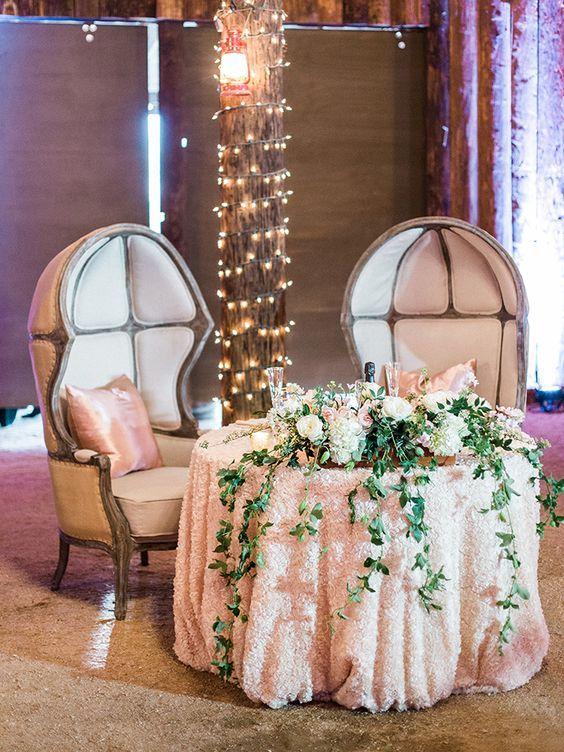 Romantische Blumen Dekorative Schatz Tabellen Hacks Fur Die Heirat