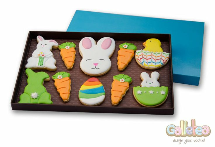 Pack grande especial Pascua en color verde:http://www.galletea.com/galletas-decoradas/