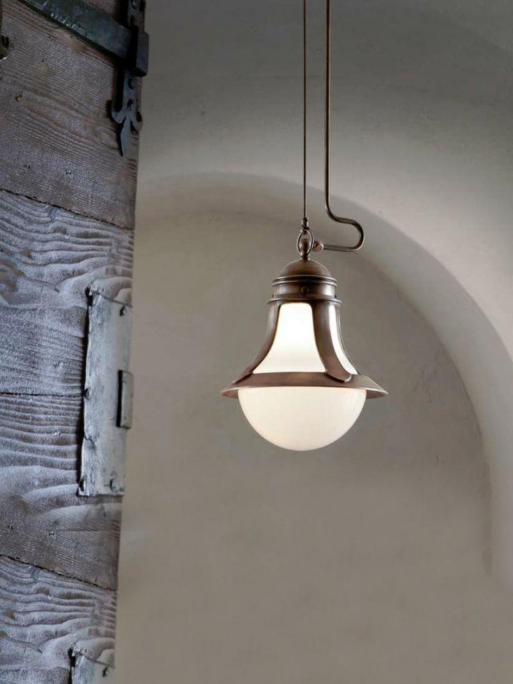 Gli Ottoni | Lampade in ottone, illuminazione interni e illuminazione per esterni - Aldo Bernardi