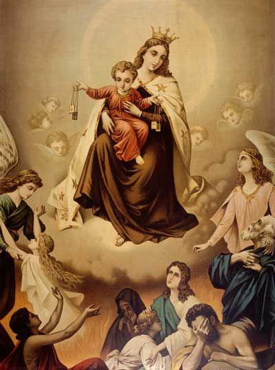 Nuestra Señora del Monte Carmelo / 16 de Julio – 866º Aniversario / Año: ~1150 (s. XII) / Lugar: Monte Carmelo, Israel / Apariciones de la Virgen María a los fundadores de la Orden Carmelita del Monte Carmelo.