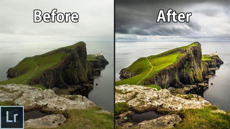 Landscape Photography Editing in Lightroom - Adobe Lightroom 6 Complete ...