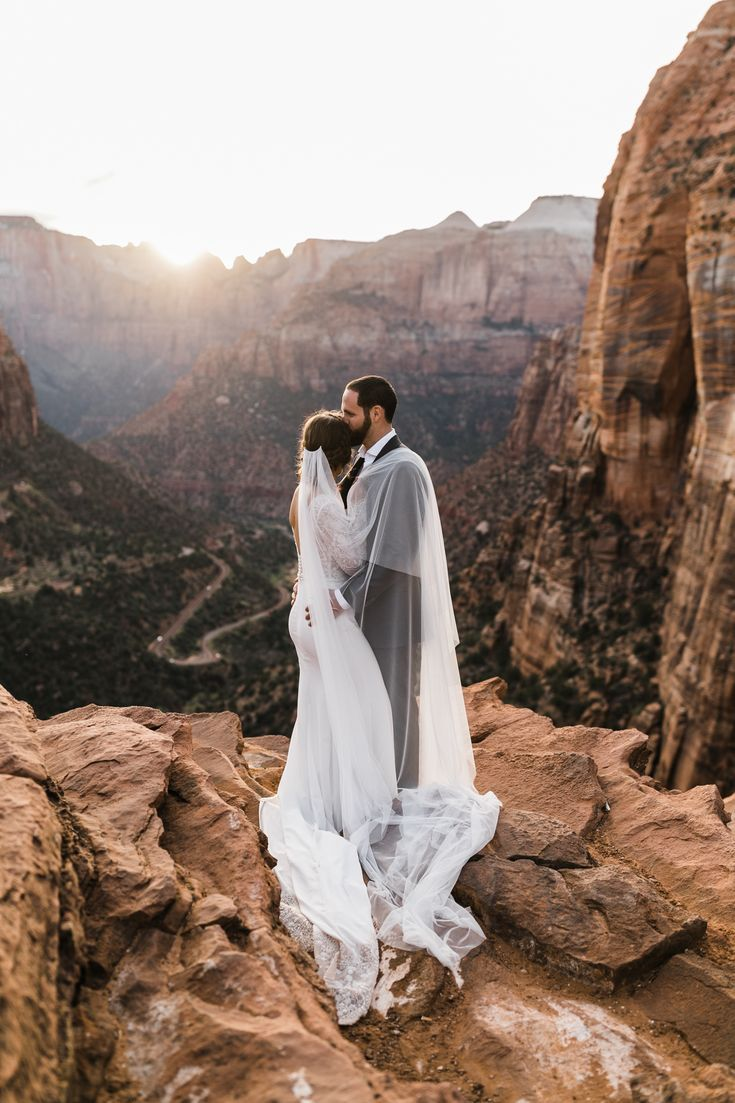 Zion National Park Wedding Utah Adventure Elopement Inspiration Adventure Wedding Elopement Photographers In Moab Yosemite And Beyond The Hearnes In 2020 National Park Wedding Adventure Wedding Park Weddings