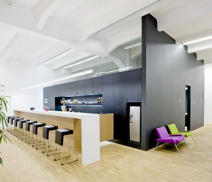 Inside the Impact Hub Prague #Coworking Office #workdifferent