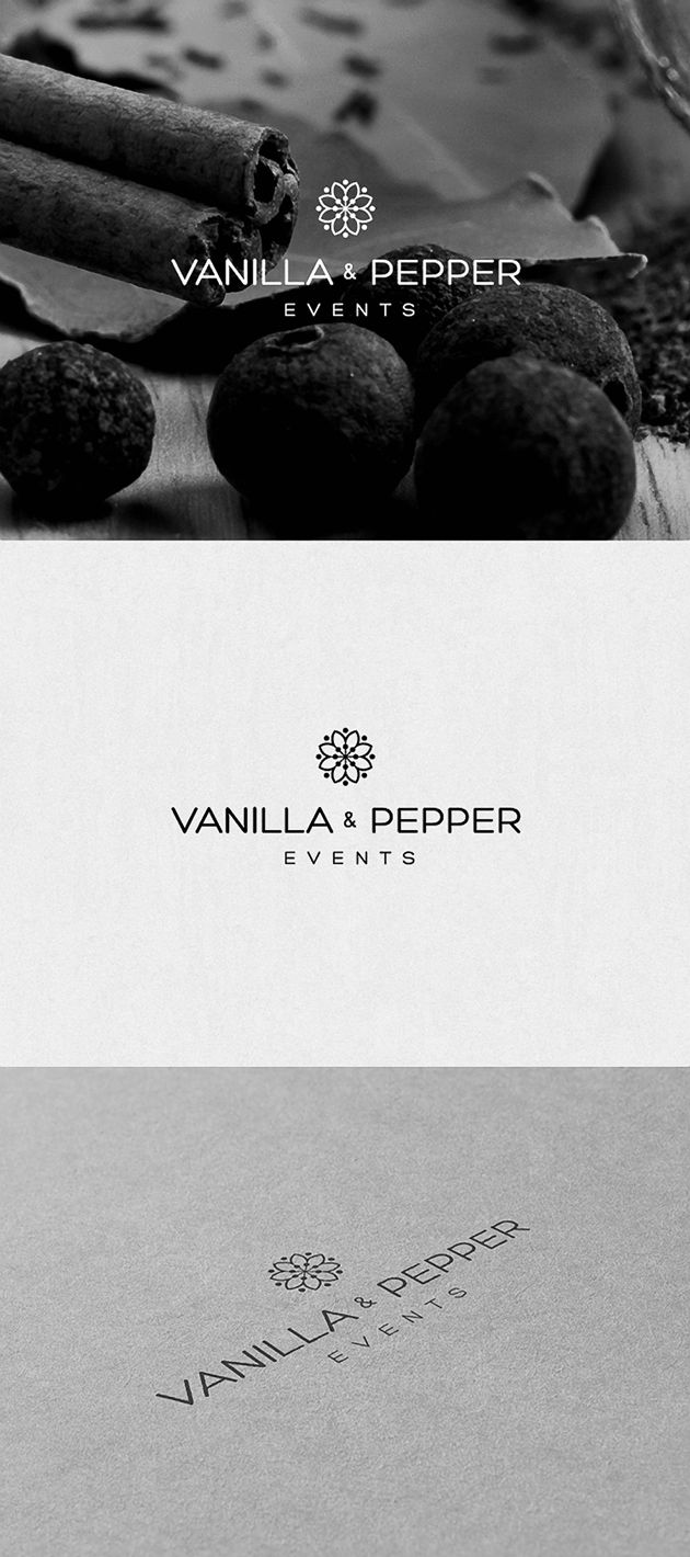 Vanilla & Pepper « Catering « Logottica – Logo inspiration community