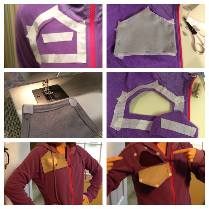 Stay warm during chemo treatments. DIY Chemo clothing / Port-able clothing / Port access