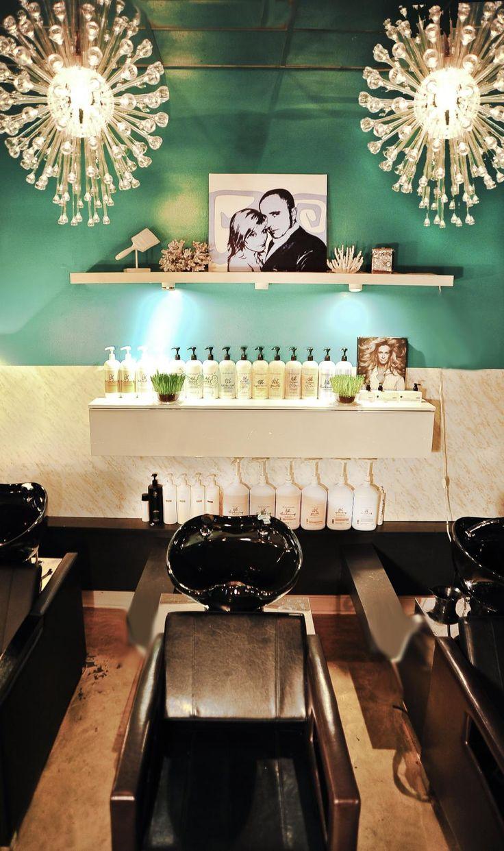 Elysium Salon Vintage Glam Shampoo Room by Jesse Vickers   Salon Today