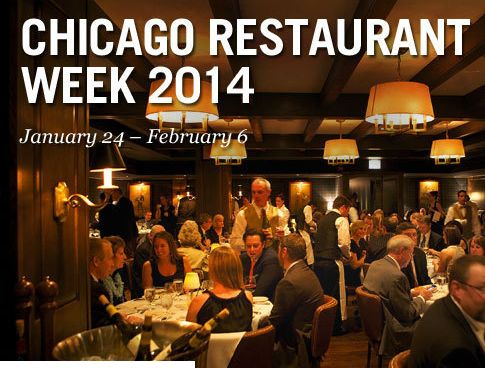 Chicago Restaurant Week Just Announced for January 2014 Eat Well...Live Full